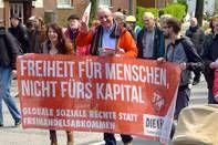 Mehmet Yildiz: Freiheit für Menschen, Maidemo Hamburg 2016