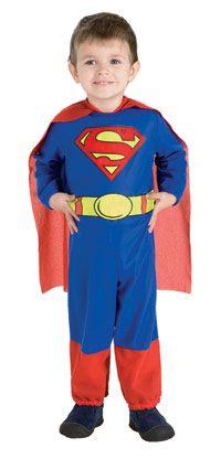Toddler Superman Costume - Toddler Halloween Costumes