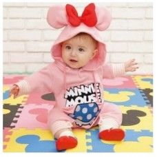 Minnie Mouse Bow Winter Jumpsuit  $19 + $7.84 Postage!  Shop it Here > http://www.babyluscious.com.au/characters/minnie-mouse%20/minnie-mouse-bow-jumpsuit