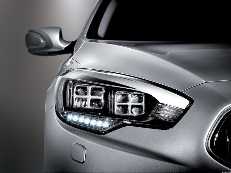 Quoris a jeho světlomet... #quoris #kia #kiamotors #cars