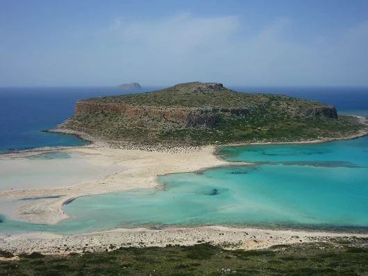 Playa de Balos, noroeste de Chaniá
