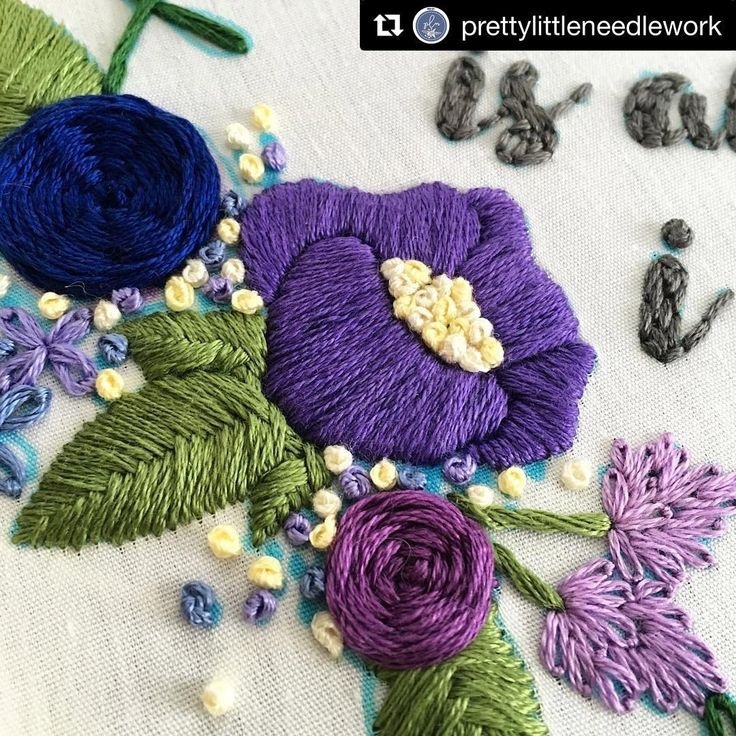 @prettylittleneedlework #needlework #handembroidery #bordado #broderie #embroidery #ricamo
