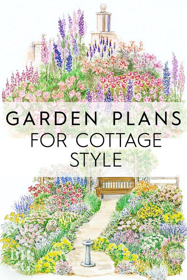 Plants Garden Outdoor Gardens, How To Plan A Cottage Garden