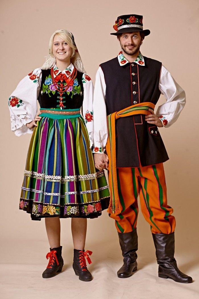 łowicz posts - Polish Folk Costumes