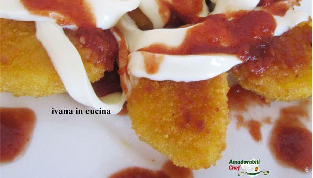 Bocconcini di pollo filante in salsa piccante di Ivana in Cucina!
