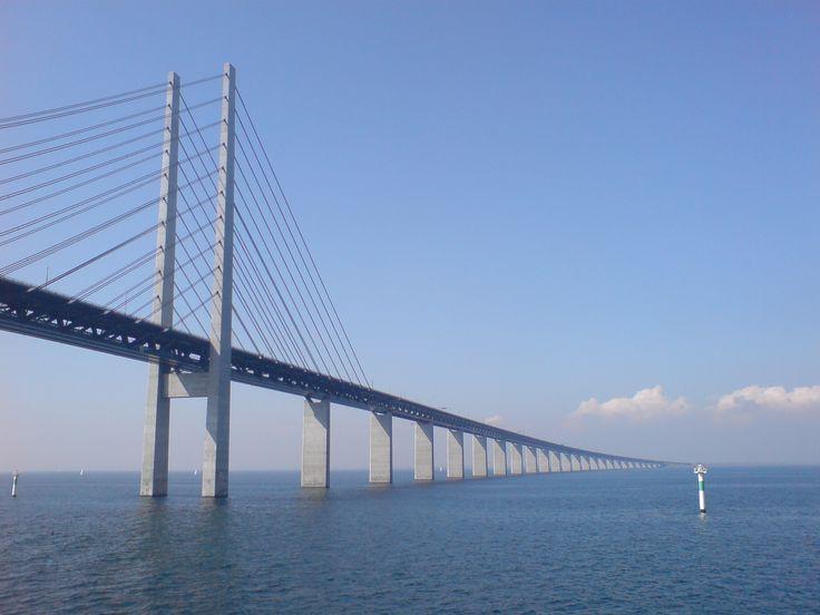 Oresund Bridge #Copenaghen #viaggi #journey / seguici su www.cocoontravel.uk