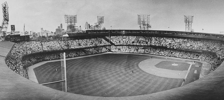 Tiger Stadium in 1961