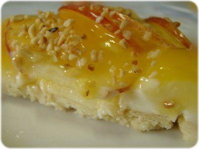 Receita passo a passo: Torta de maçã com creme de laranja (e sua variação mini-tortinha)