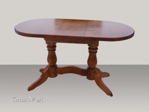 Стол обеденный из массива дерева №2А