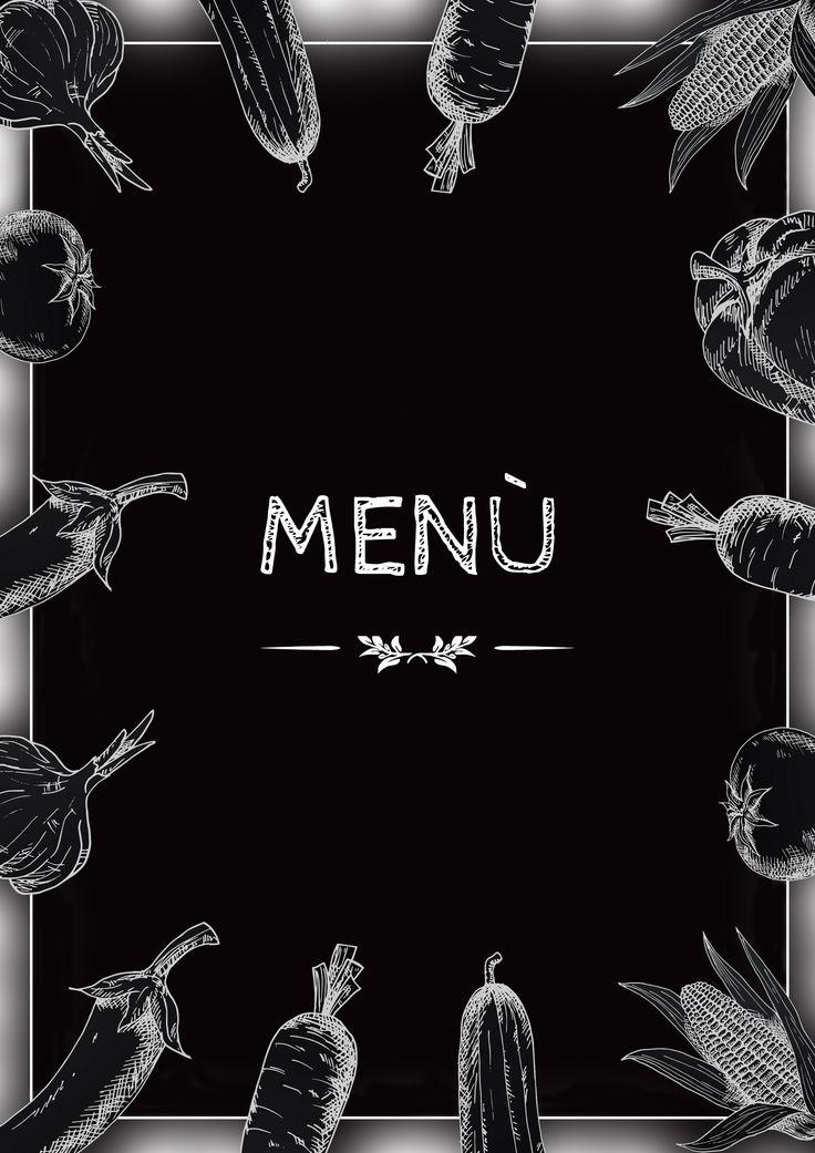 copertina menù ristorante