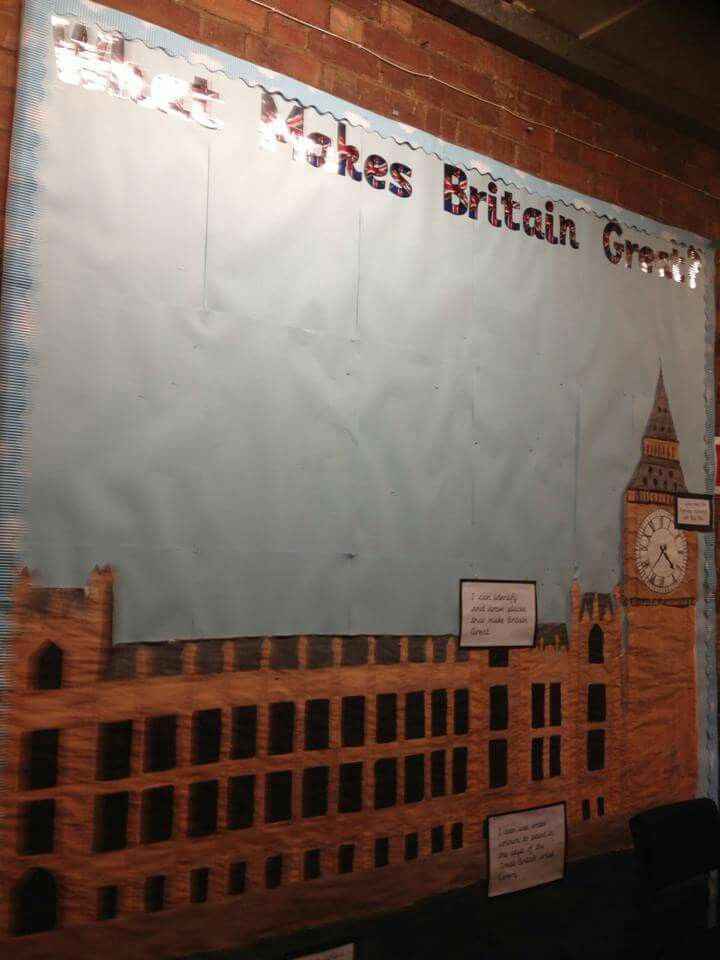 British Values Wall Display