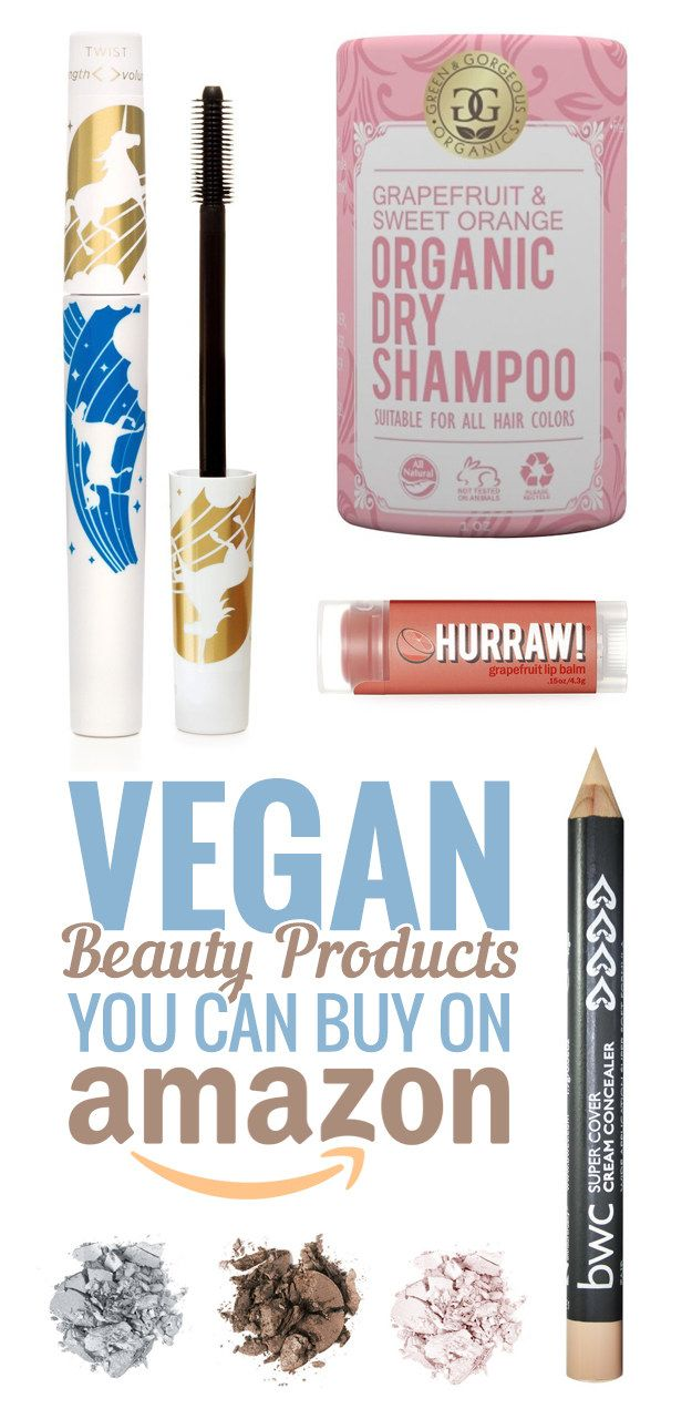 Vegan Beauty Products You Can Buy On Amazon