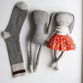 Die sich entwickelnde Socke #sockdoll #sockbunny #…