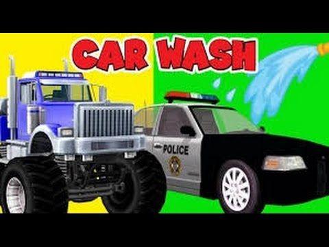 Lavado de autos para niños | Lavado de camiones | recopilación de videos...