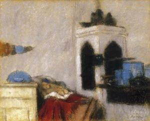 The Child of the Cook Always Cries - József Rippl-Rónai - The Athenaeum