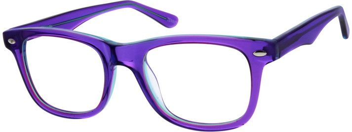 Women's Purple 3063 Acetate Full-rim Frame With Spring Hinges | Zenni Optical Glasses-u0s3XF6e trying to win!