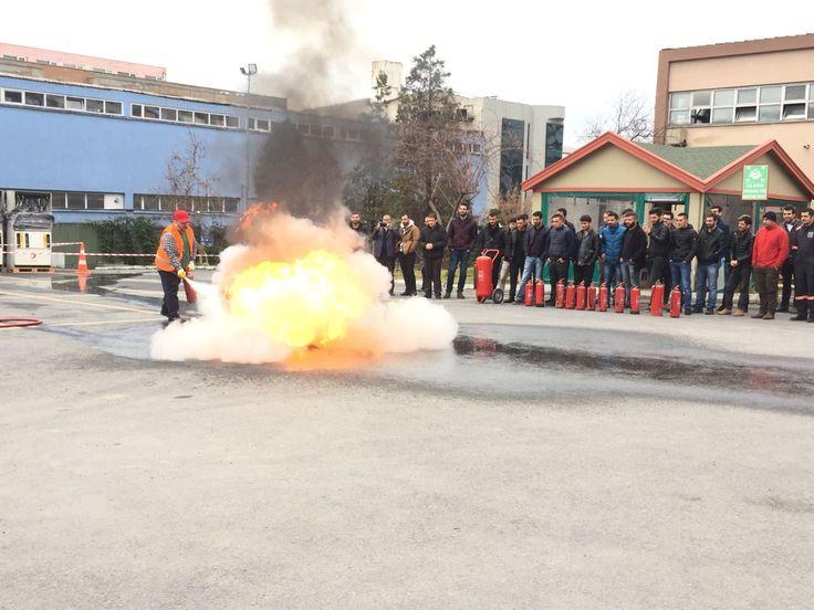 TORA Geleneksel 11. SEÇ Haftası uygulamalı yangın eğitimi ile devam ediyor.