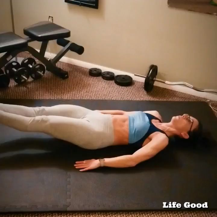 Challenge your core with this intense exercise for women