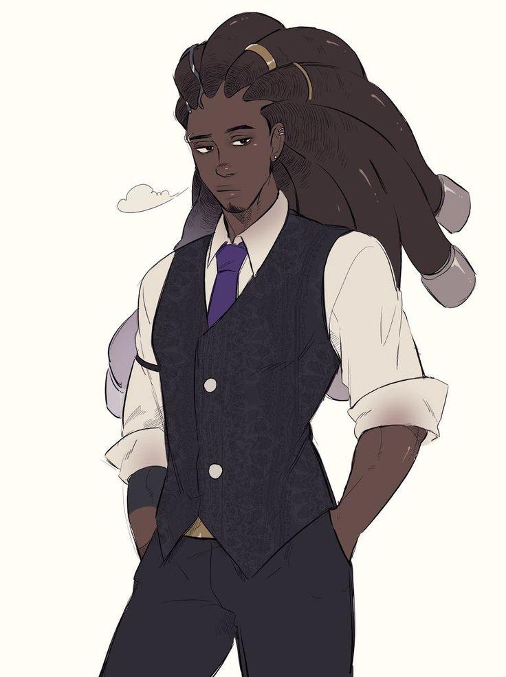 1199 Best Anime/Manga (Dark Skin Characters) Images On