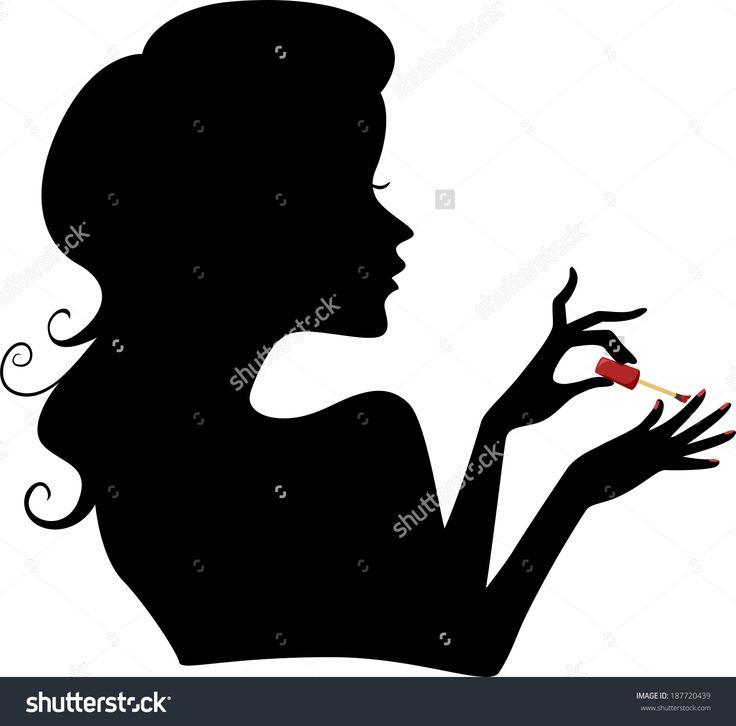 Nails Manicure Stock Vectors & Vector Clip Art | Shutterstock