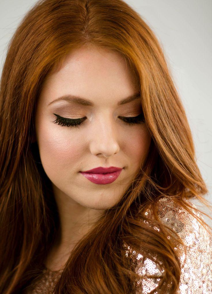 Natural makeup Nude lips fresh dewy dewy skin bridal makeup Bride wedding makeup Glam makeup red hair makeup #naturalmakeup #pinklips #bridalmakeup #glam