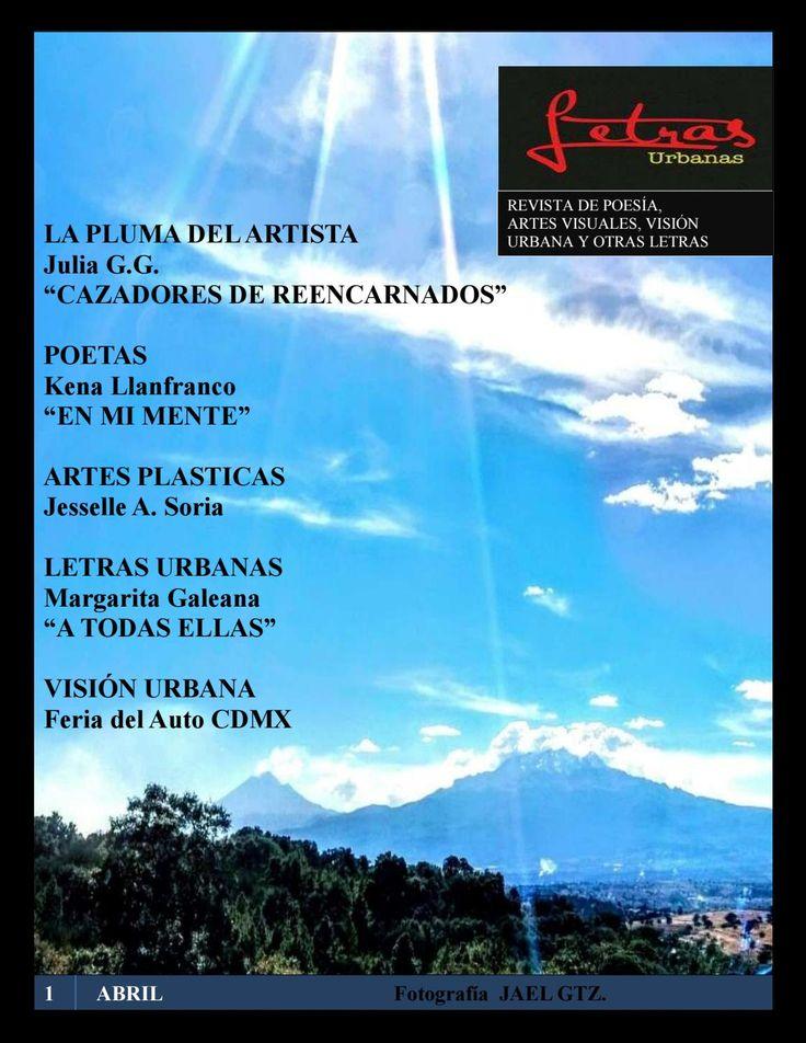 Letras Urbanas es una Revista Dígital dedicada a promocionar el arte y dar a conocer a artistas como Poetas, Escritores, Narradores, Fotografía, Artes Plásticas, etc.