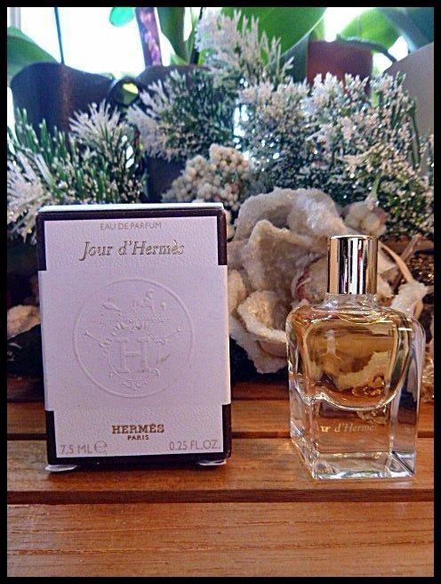 Hermes Jour d'Hermes Eau de Parfum 7.5mL Miniature Flacon Feminine Alluring NIB #HERMS