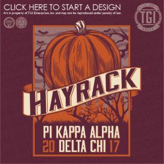 Pi Kappa Alpha | ΠKA | Pike | Hayrack | Function | Mixer | TGI Greek | Greek Apparel | Custom Apparel | Fraternity Tee Shirts | Fraternity T-shirts | Custom T-Shirts