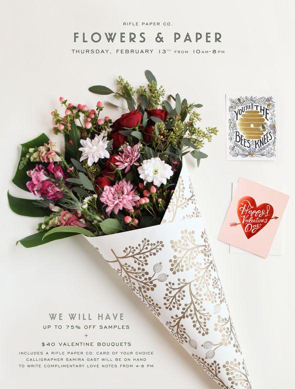 flower & paper #riflepaper #newsletter