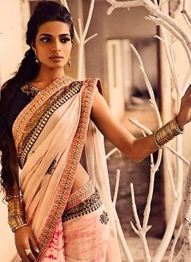 this looks elegant =) #indian #saree