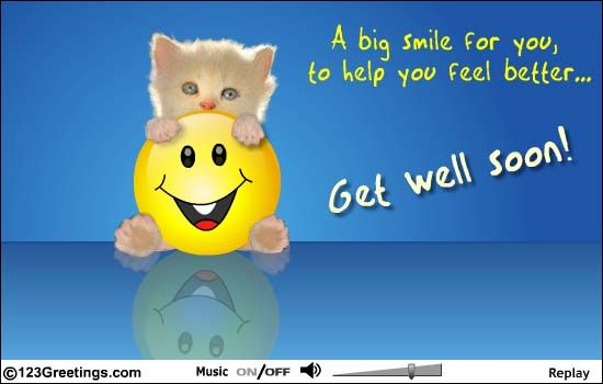 free+get+well+ecards | ... Get Well... Free Get Well eCards, Greeting Cards | 123 Greetings