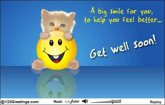 free+get+well+ecards | ... Get Well... Free Get Well eCards, Greeting Cards | 123 Greetings