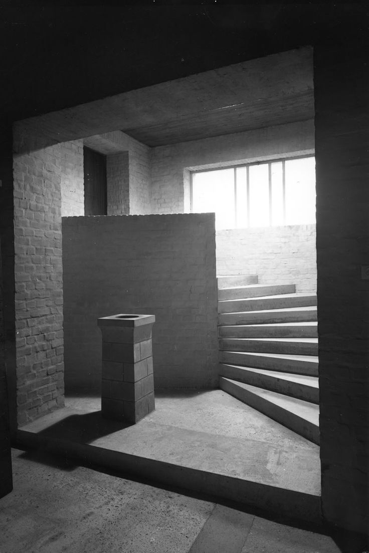 Dom Hans van der Laan's Abbey Church of St. Benedictusberg, Vaals 1967.
