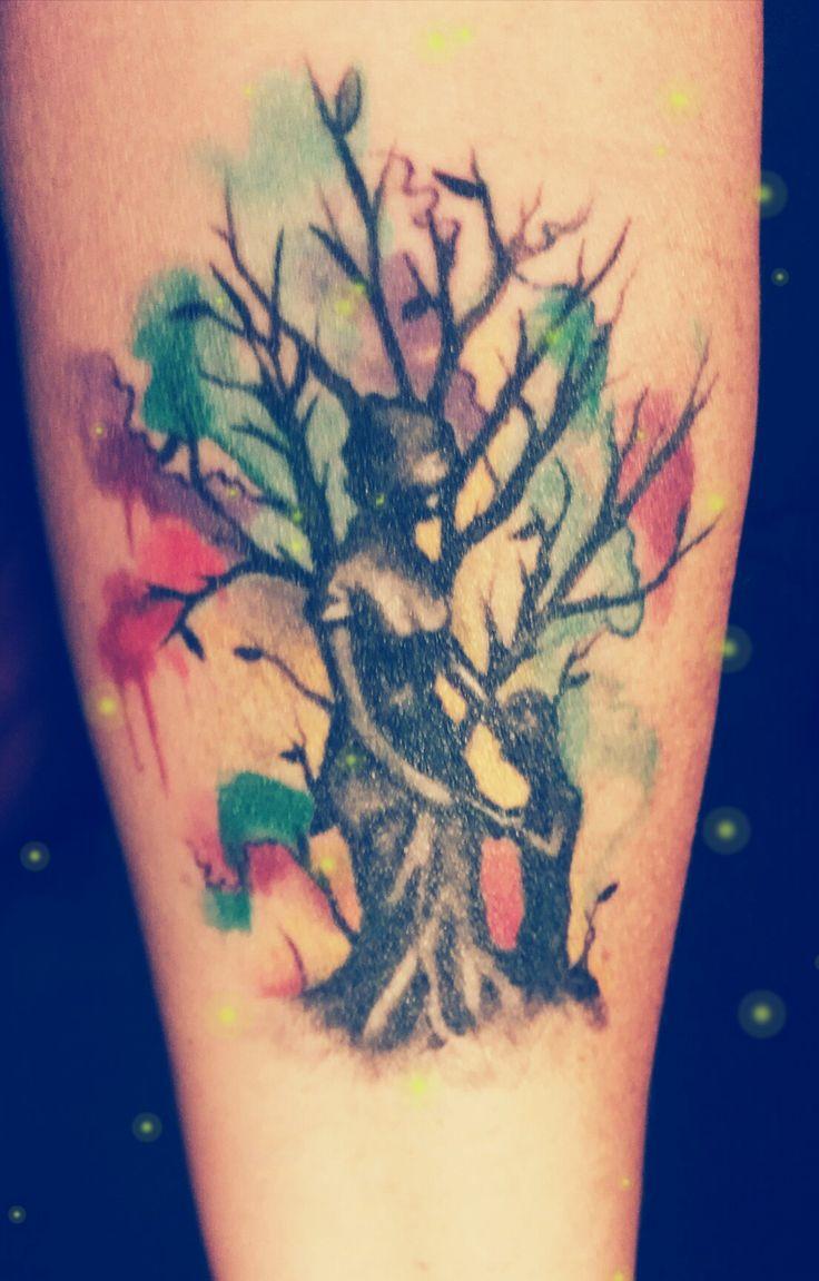Mutter Kind Tattoo