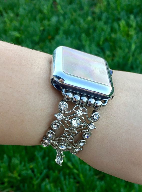 Apple Watch iWatch Band 38mm 42mm Women Band Bands by TimeKitsUSA