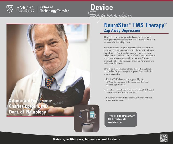 Zapping away depression with NeuroStar TMS