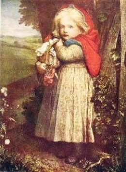 The Little Red Riding HoodRed Cap by George Frederic Watts, source: Wikipedia, PD licence: