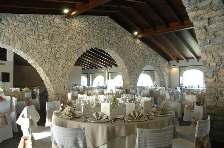 Un banquete con gusto en una #casarural #bodas #Camprodon http://www.ruralmeeting.com/en/sala/el-mariner-de-sant-pau/