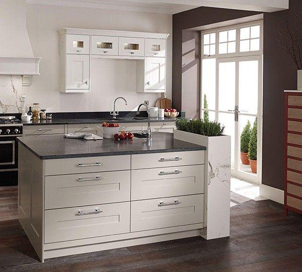 9 best Fitzroy Partridge Grey Kitchen images on Pinterest Gray - küchen möbel martin