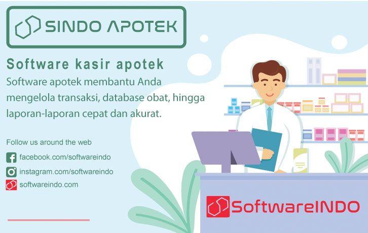 Software Kasir Apotek Sindo Apotek Sistem Informasi Manajemen Aplikasi