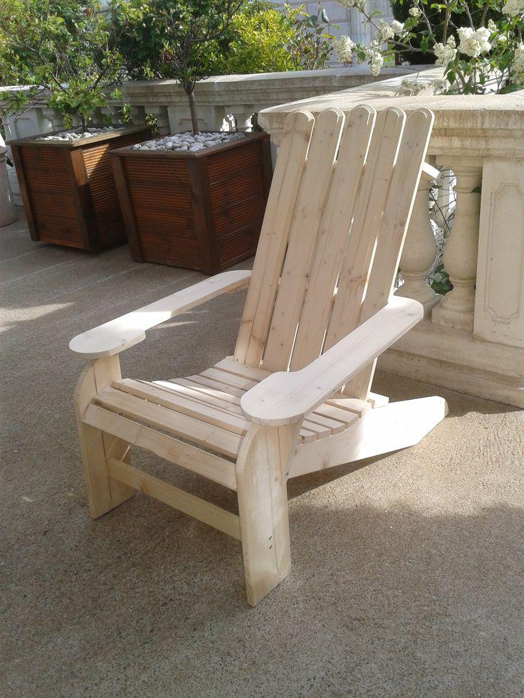 Les 25 meilleures id es de la cat gorie fauteuils - Fauteuil de jardin en palette ...