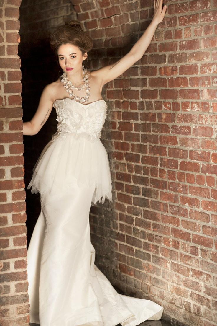 Robe de mariée Elizabeth Fillmore (photo : jana-williams.com)