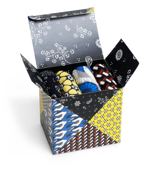Opening Ceremony Happy socks packaging PD