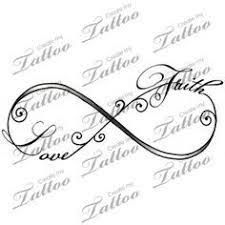 Image result for infinity tattoos with kids names on foot