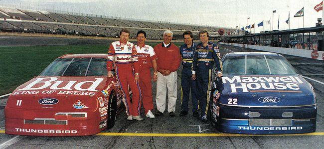 1992 Daytona 500 front row