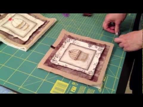 ▶ Come cucire una semplice presina! - YouTube