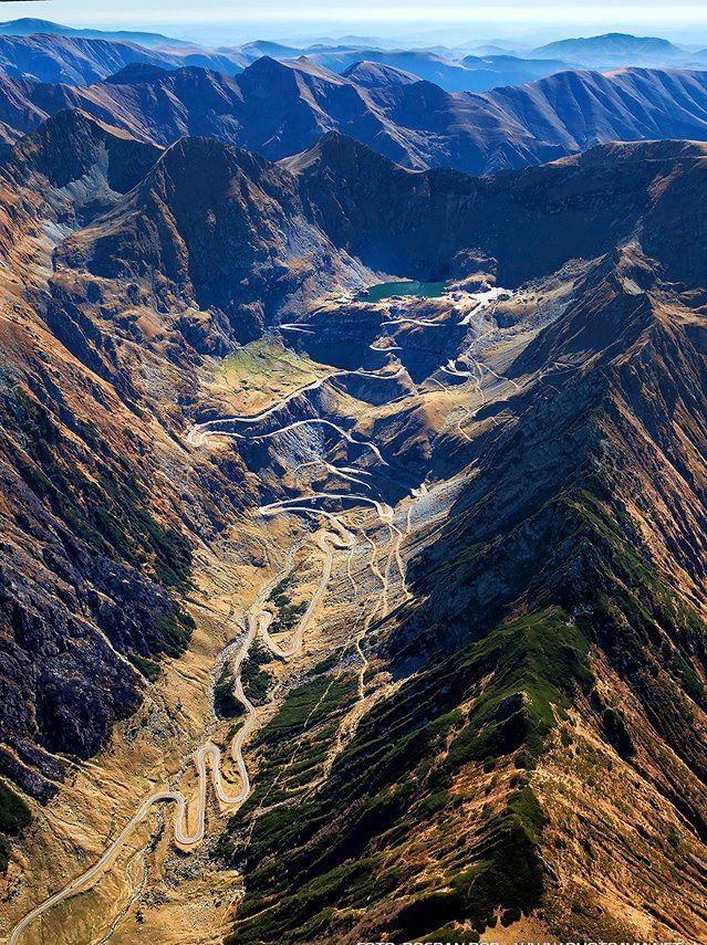 In Search of the World's Greatest Roads! Could the Transfagarasan in Romania be the ultimate driving road?! Hit the image to watch the video! #breathtaking