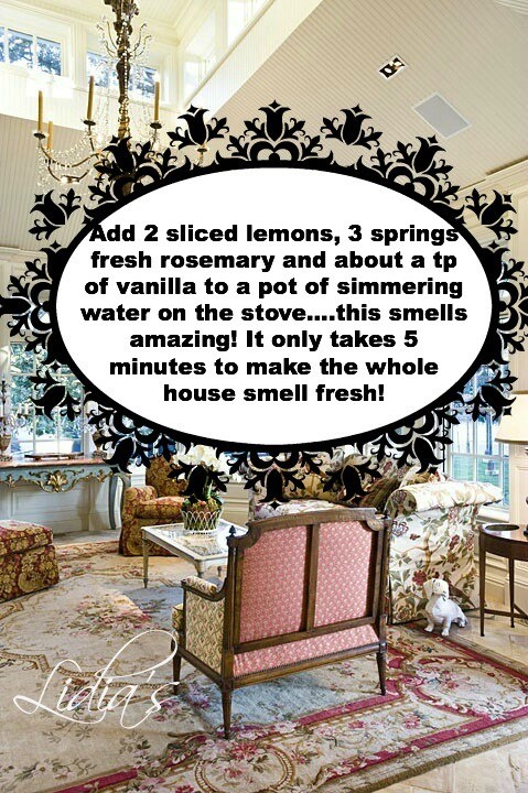 Would you like to make your house smell wonderful? Here's how you get it!