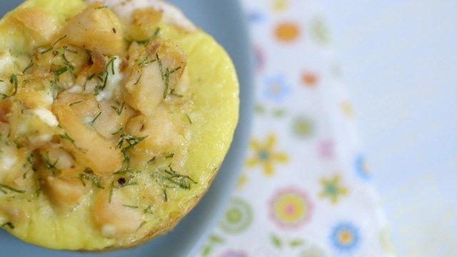 Mini-quiches au saumon | Cuisine futée, parents pressés