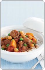 Lamb Casserole with Pumpkin and Chickpeas